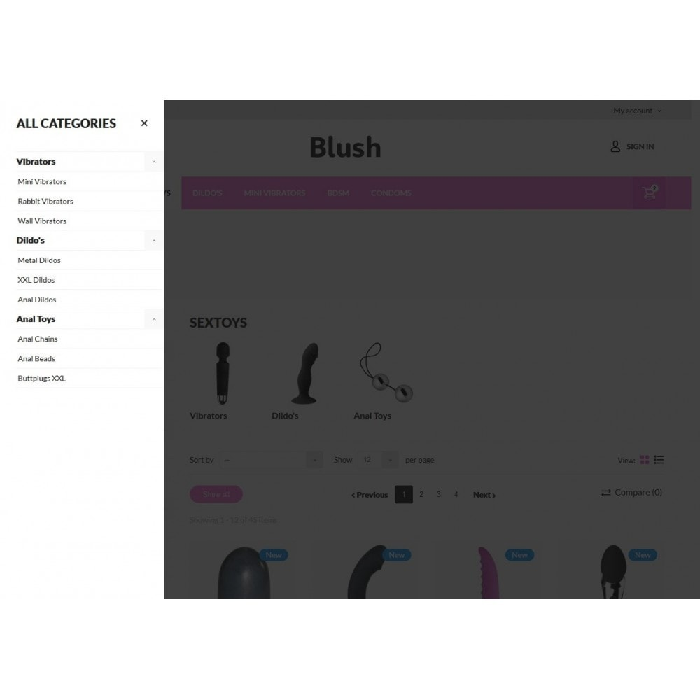 theme - Lenceria y Adultos - Blush - Sex Shop - 5