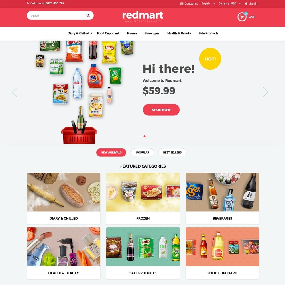 theme - Lebensmittel & Restaurants - REDMART - 2
