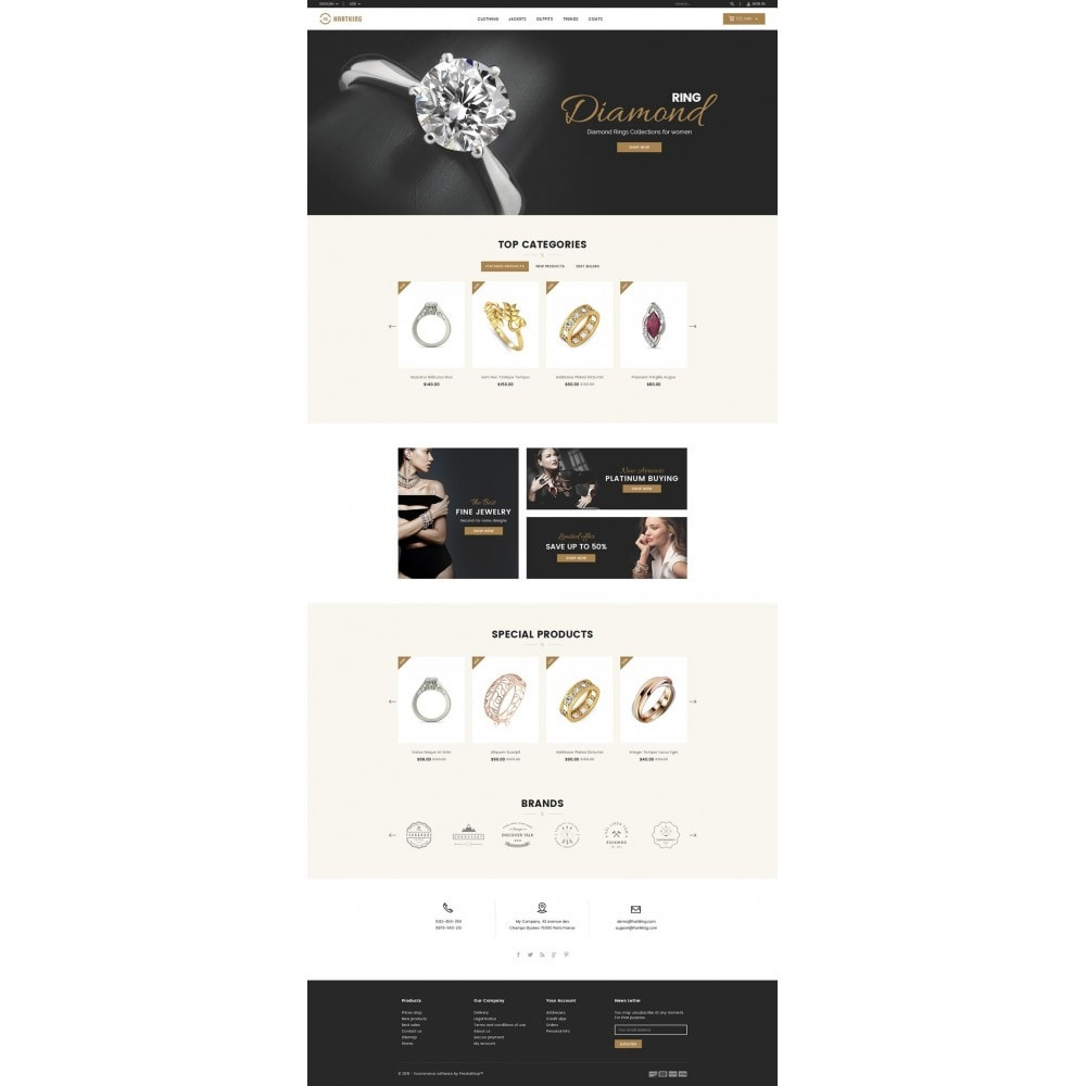 theme - Joyas y Accesorios - Hartking Jewelry Store - 2