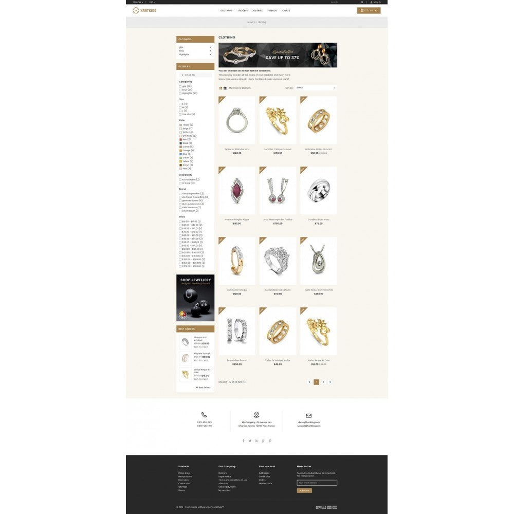 theme - Joyas y Accesorios - Hartking Jewelry Store - 3