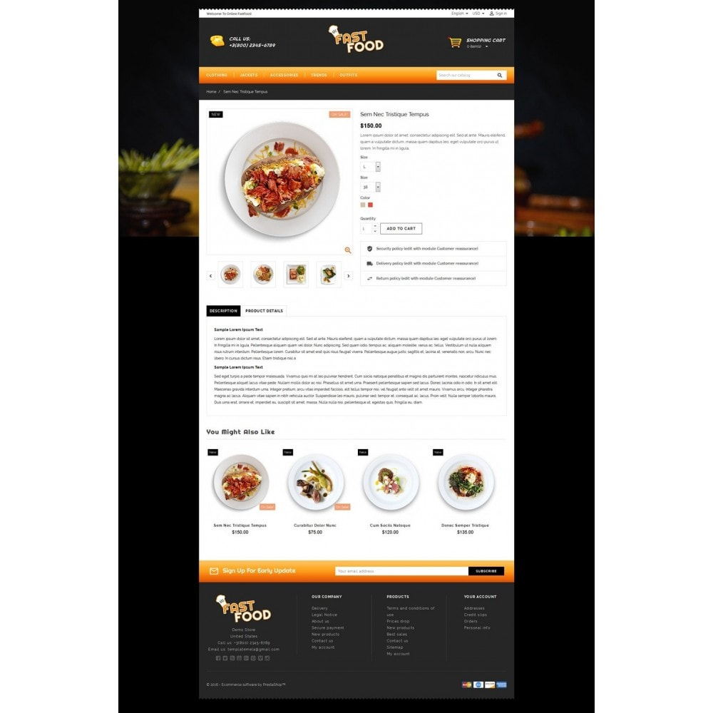theme - Eten & Restaurant - Fast Food Restaurant Store - 5