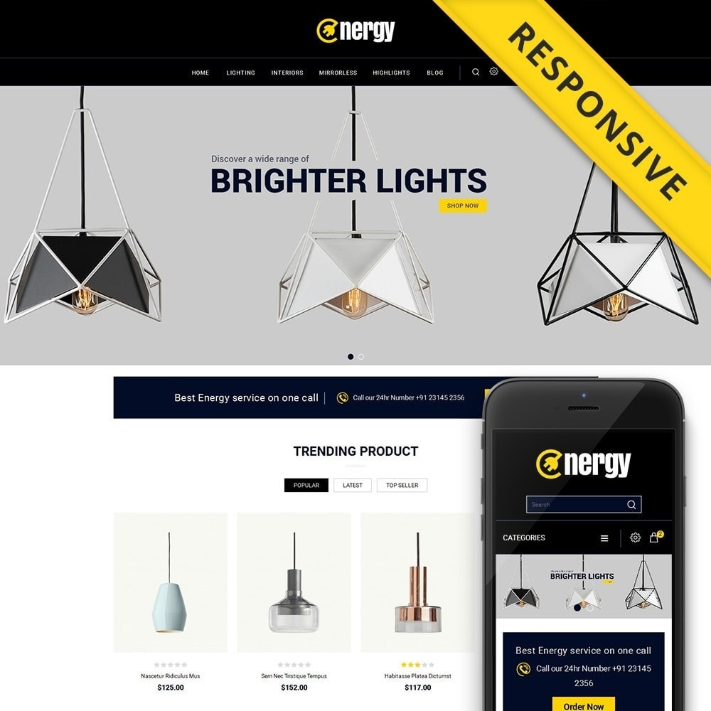 theme - Elettronica & High Tech - Energy lighting Store - 1