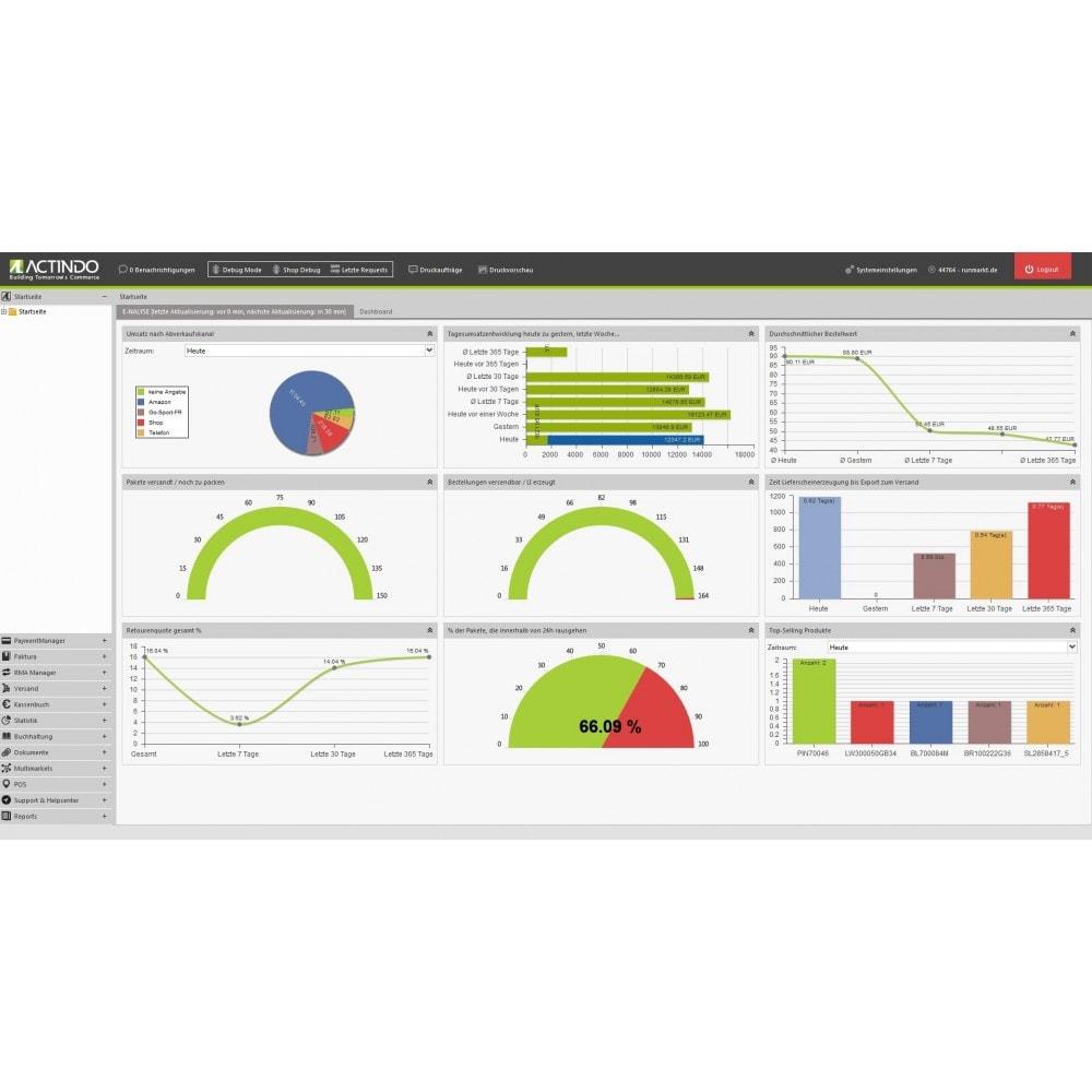 module - Data Integraties (CRM, ERP...) - Actindo RetailSuite ERP Connector - 1