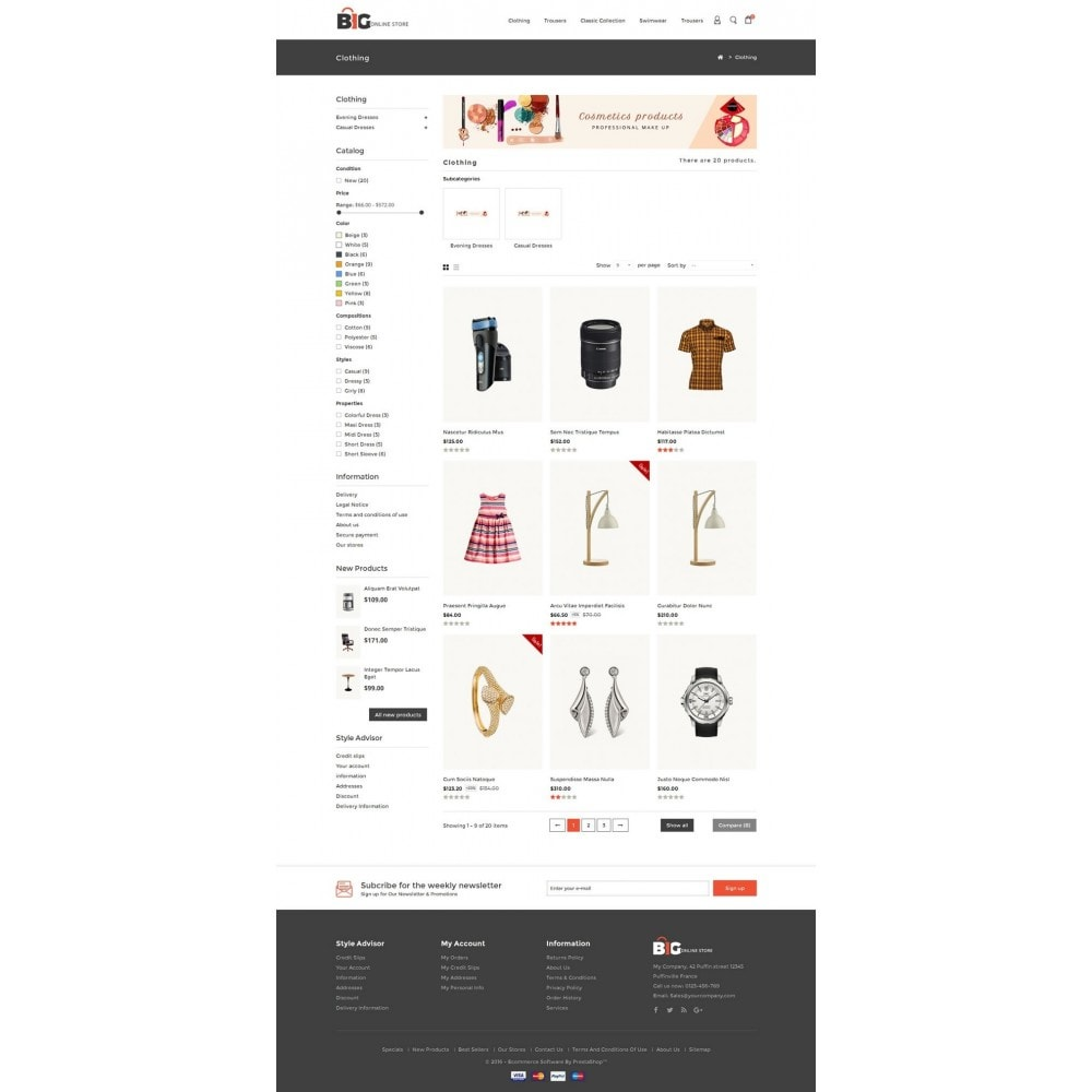 theme - Mode & Schoenen - Big Online Store - 3