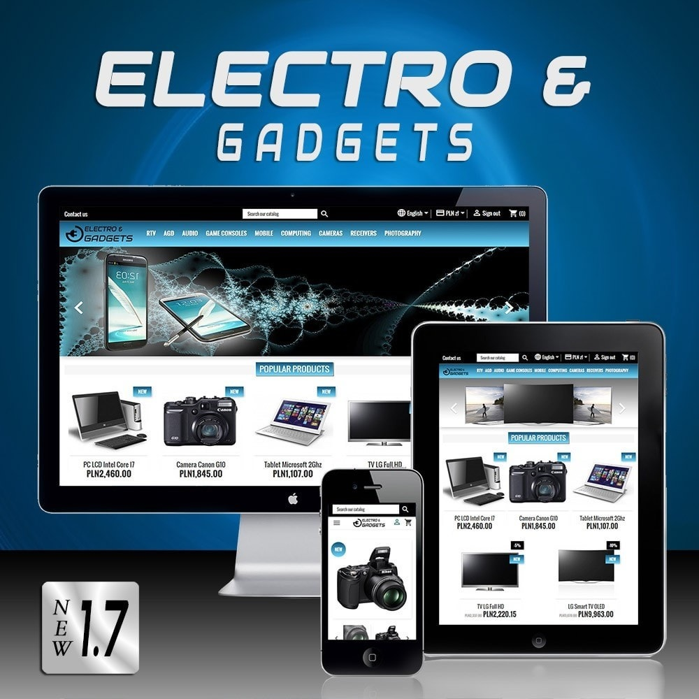 theme - Electronics & Computers - Electro & Gadgets - 1