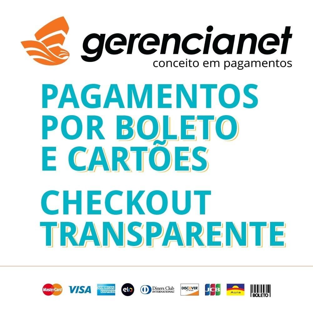 module - Pago con Tarjeta o Carteras digitales - Pagos Brasileños por Gerencianet - 1