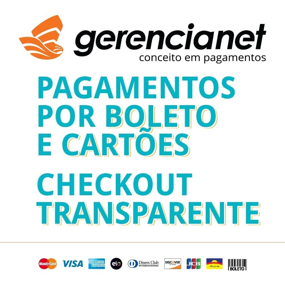 module - Zahlung per Kreditkarte oder Wallet - Brazilian payment via Gerencianet - 1