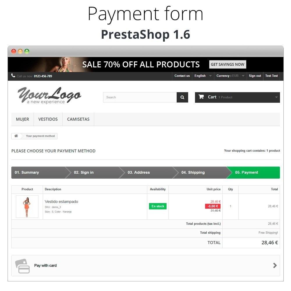 module - Logiciel de caisse (POS) - Paiement offline/manuel avec une carte de crédit/débit - 15