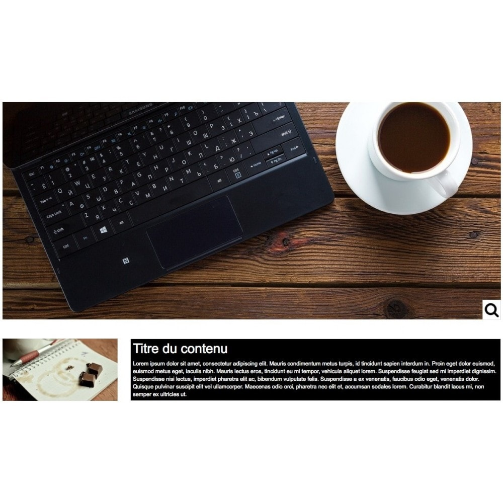 module - Personalizacja strony - Customize Homepage - 1