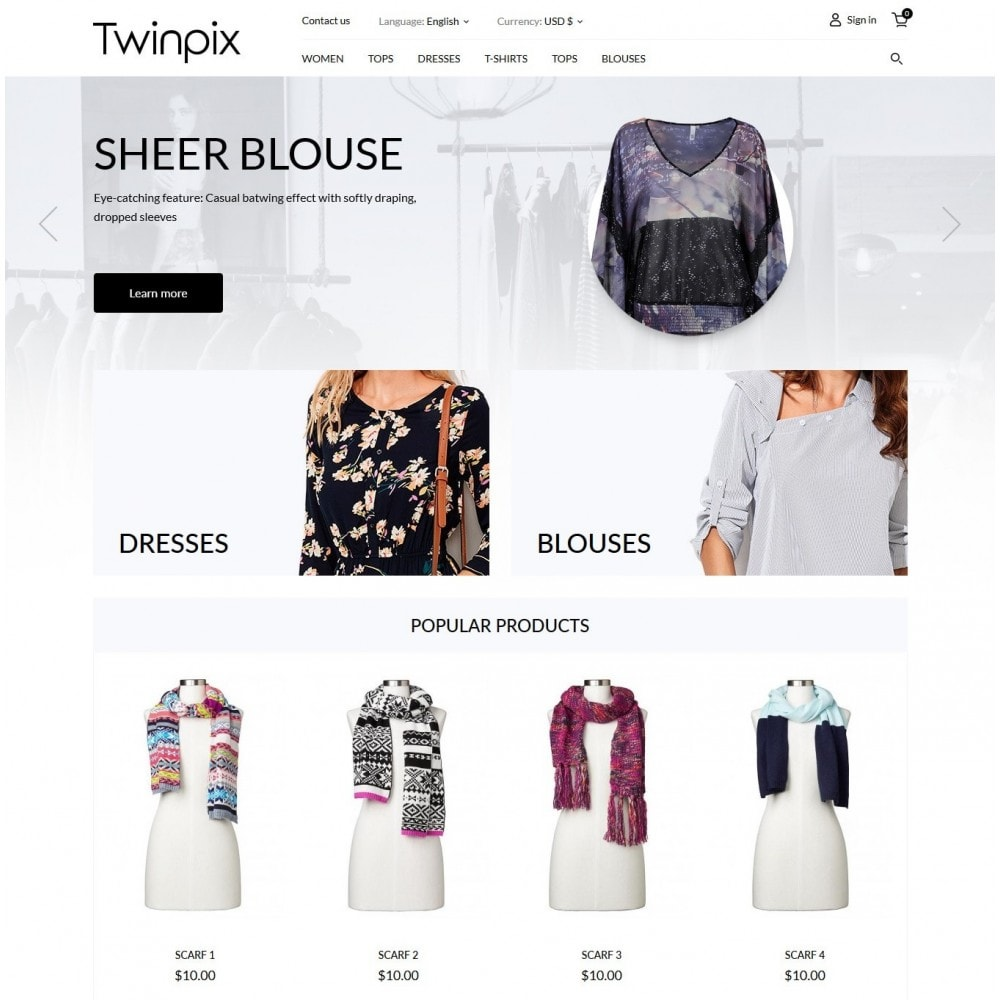theme - Moda y Calzado - Twinpix Fashion Store - 2