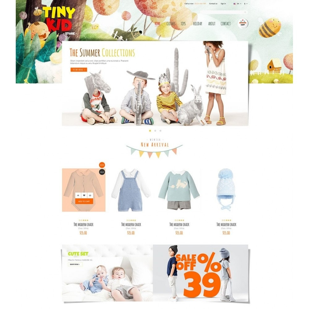 theme - Kids & Toys - Tiny Kid - 5