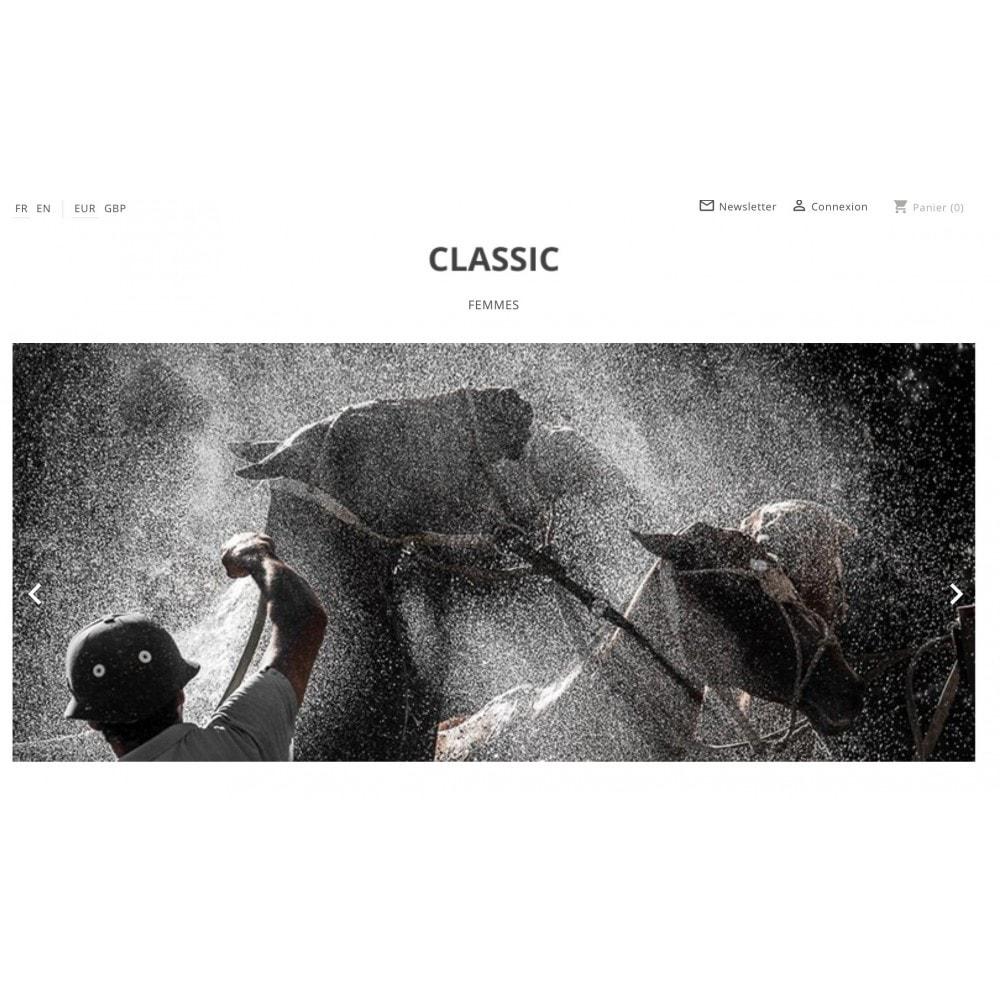 theme - Mode & Chaussures - Epuré et moderne - 1