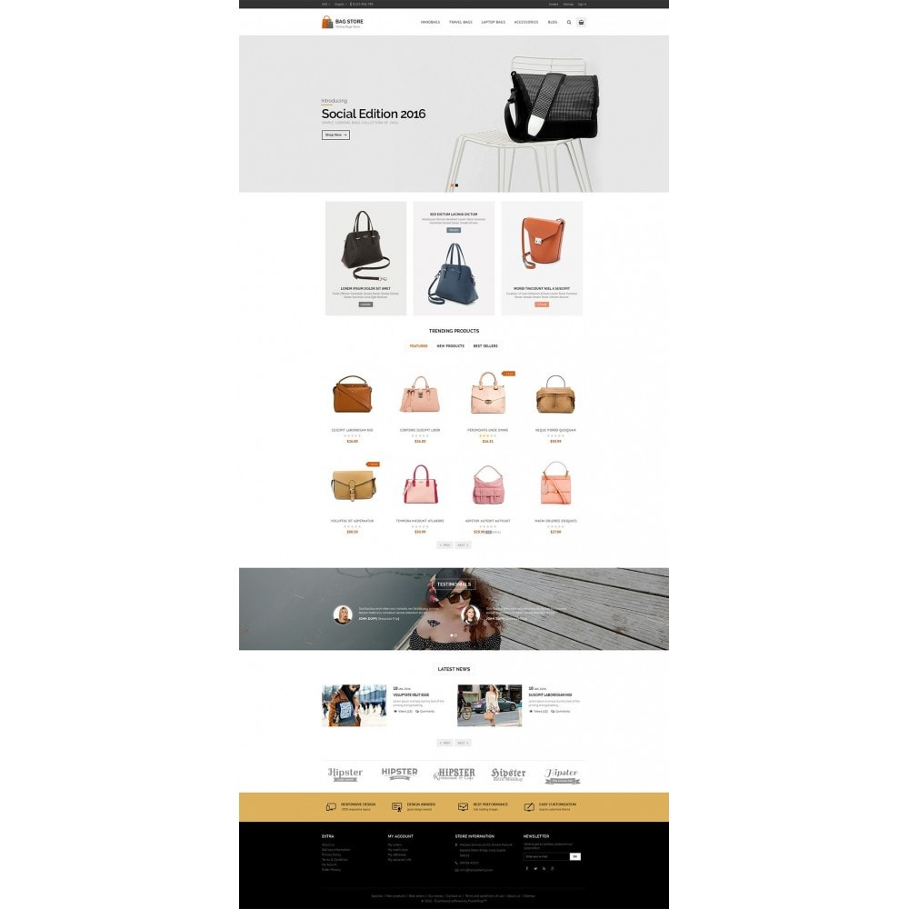 theme - Fashion & Shoes - Bags Store - 2