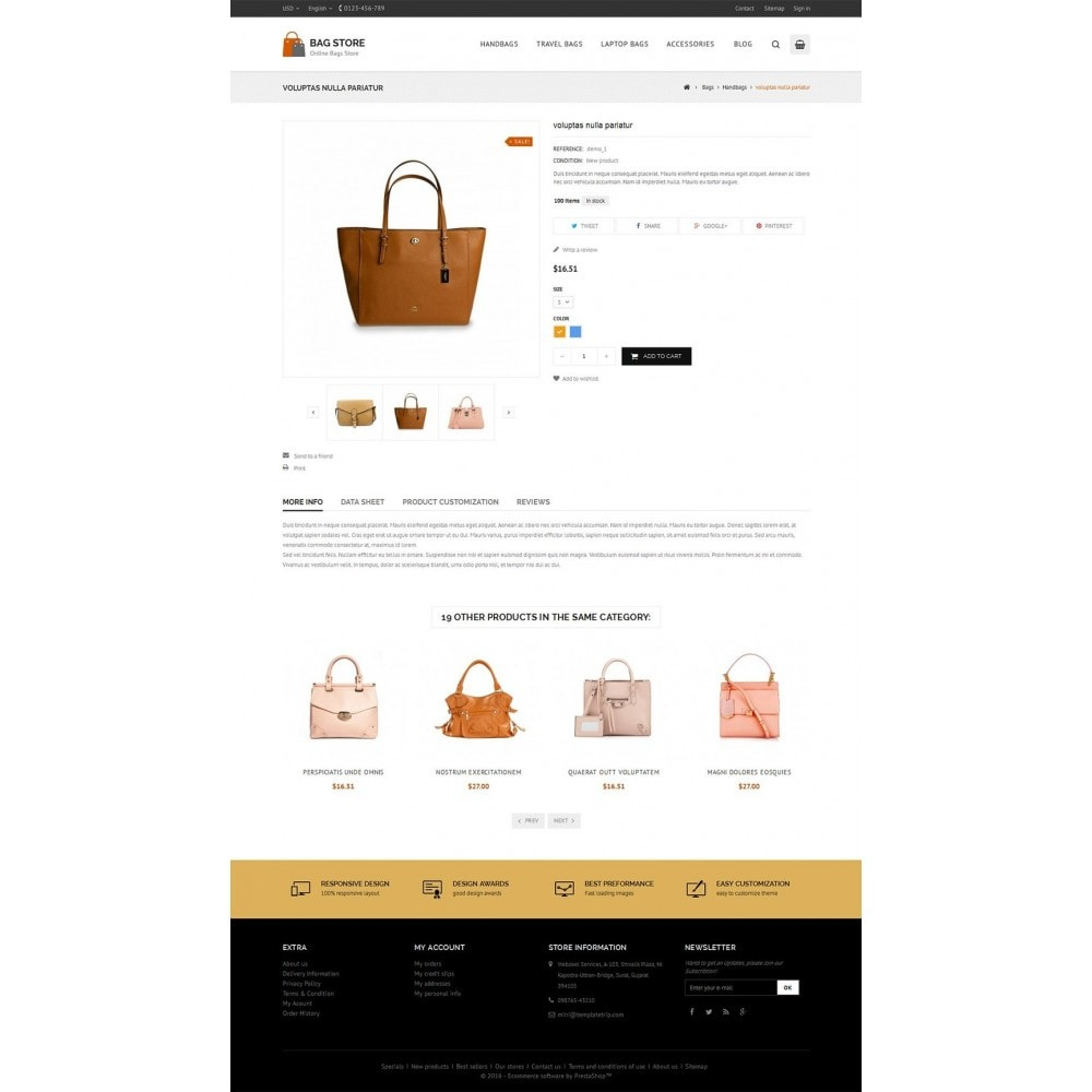 theme - Fashion & Shoes - Bags Store - 4