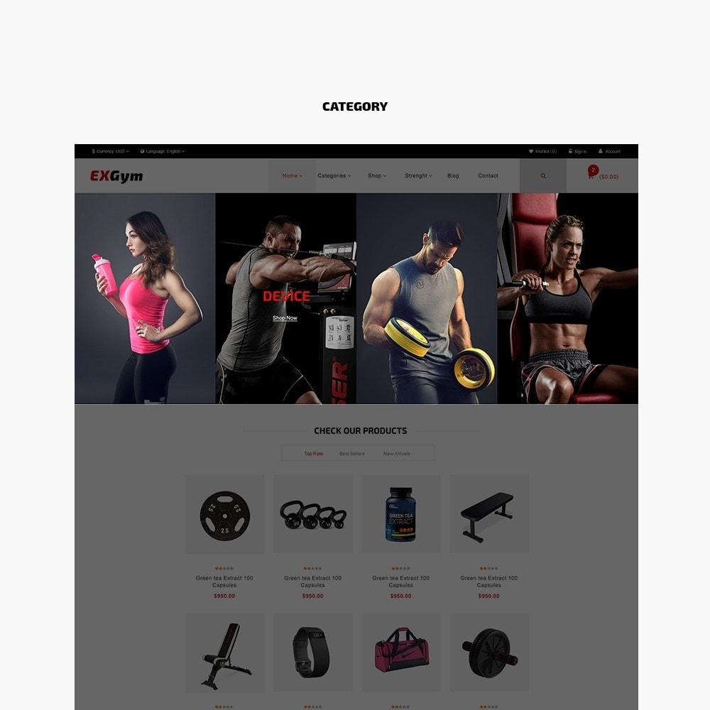 theme - Deportes, Actividades y Viajes - Leo Exgym - 3