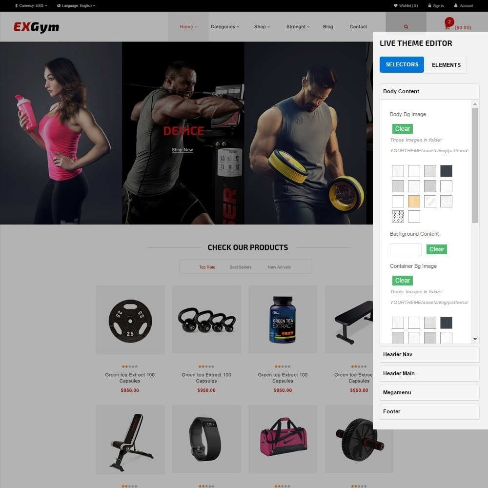 theme - Sports, Activities & Travel - Leo Exgym - 7