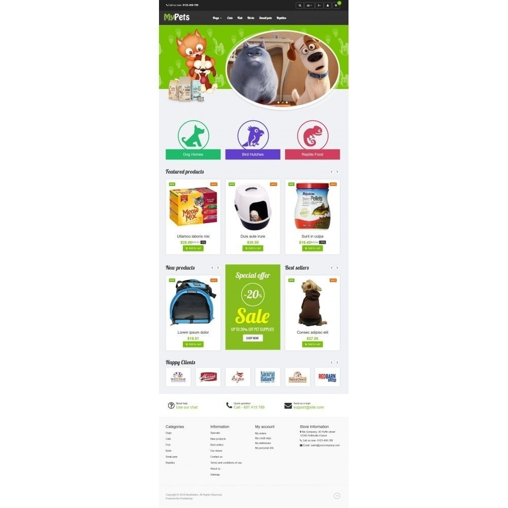 theme - Animals & Pets - VP_MyPets Store - 2