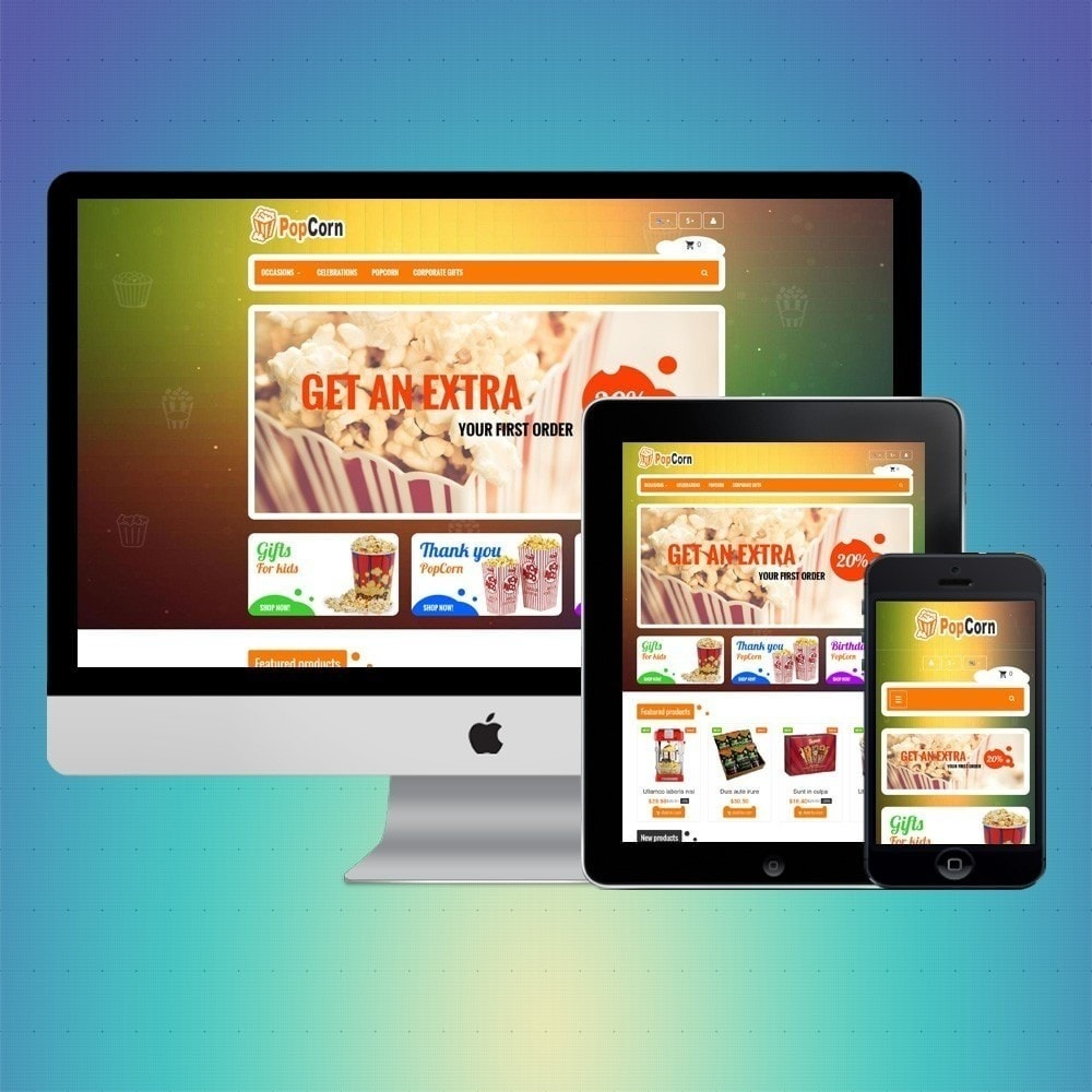 theme - Food & Restaurant - VP_PopCorn Store - 1