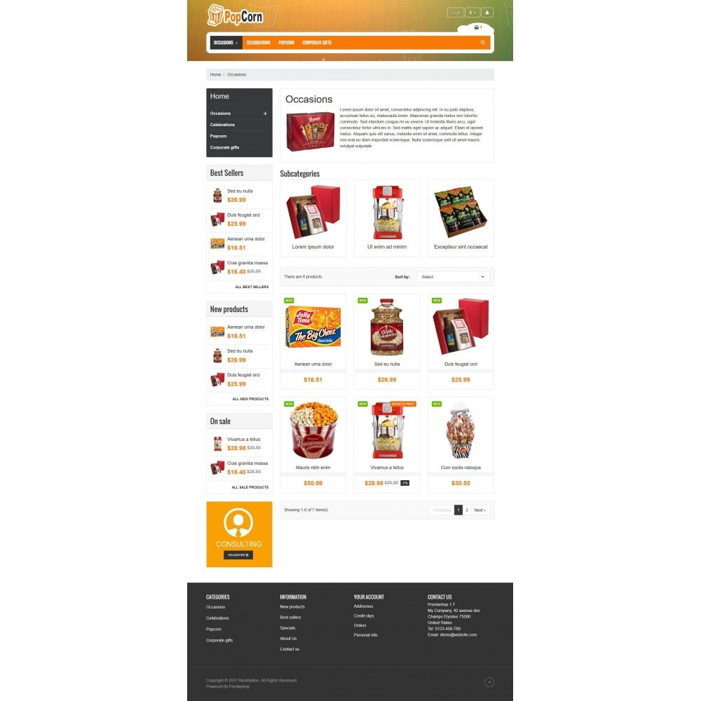 theme - Food & Restaurant - VP_PopCorn Store - 3