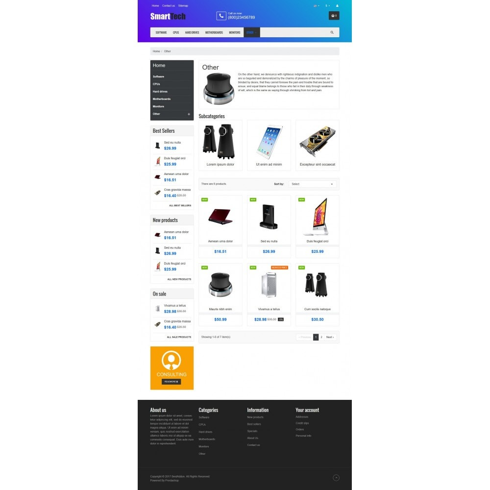 theme - Elektronika & High Tech - VP_SmartTech Store - 3