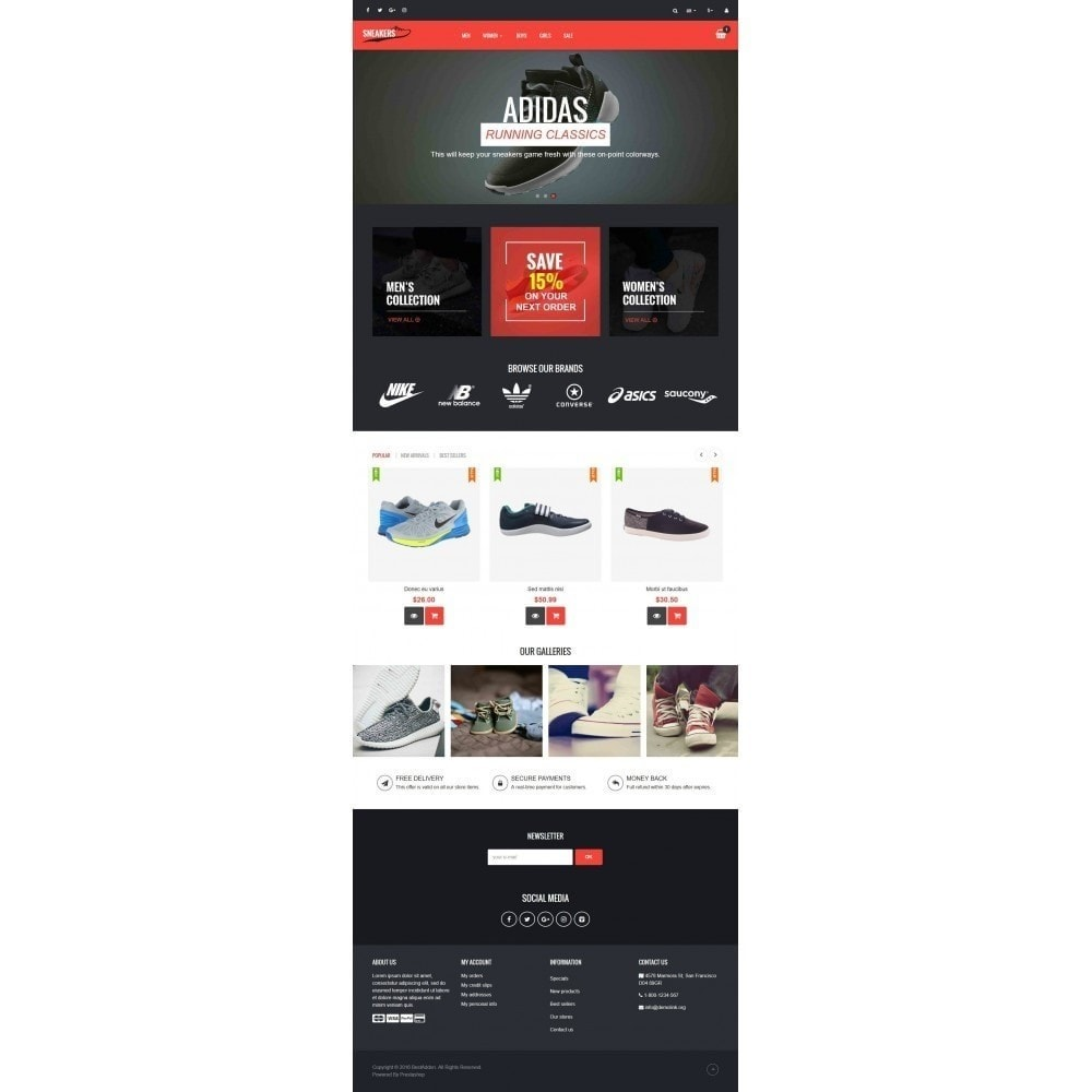 theme - Fashion & Shoes - VP_Sneakers Store - 2