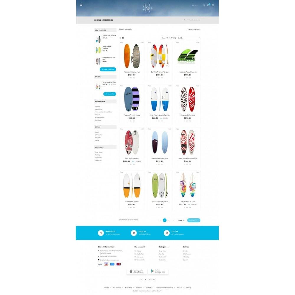 theme - Sports, Activities & Travel - Surf Summer Online Store - 3