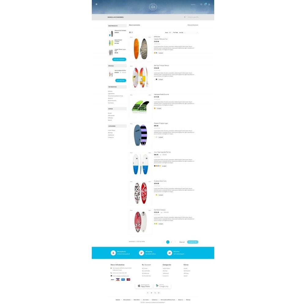 theme - Sports, Activities & Travel - Surf Summer Online Store - 4