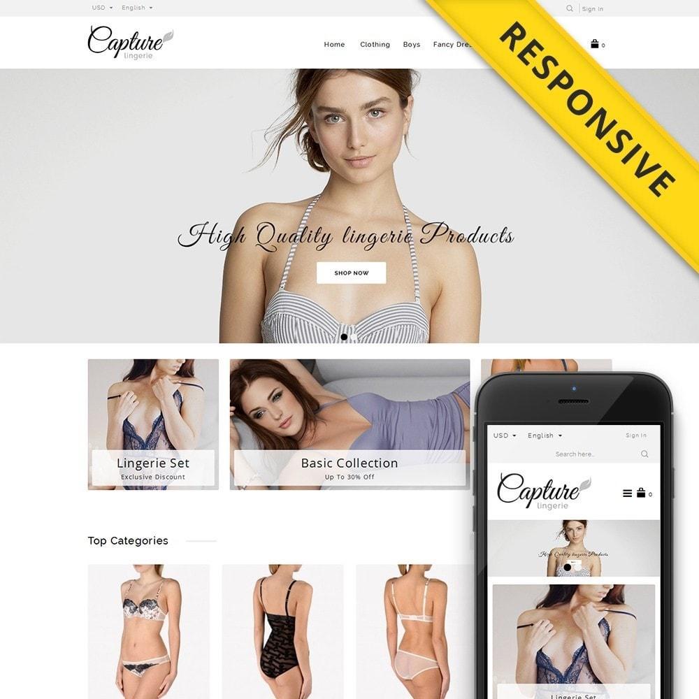theme - Lingerie & Adultos - Capture Lingerie Online Store - 1