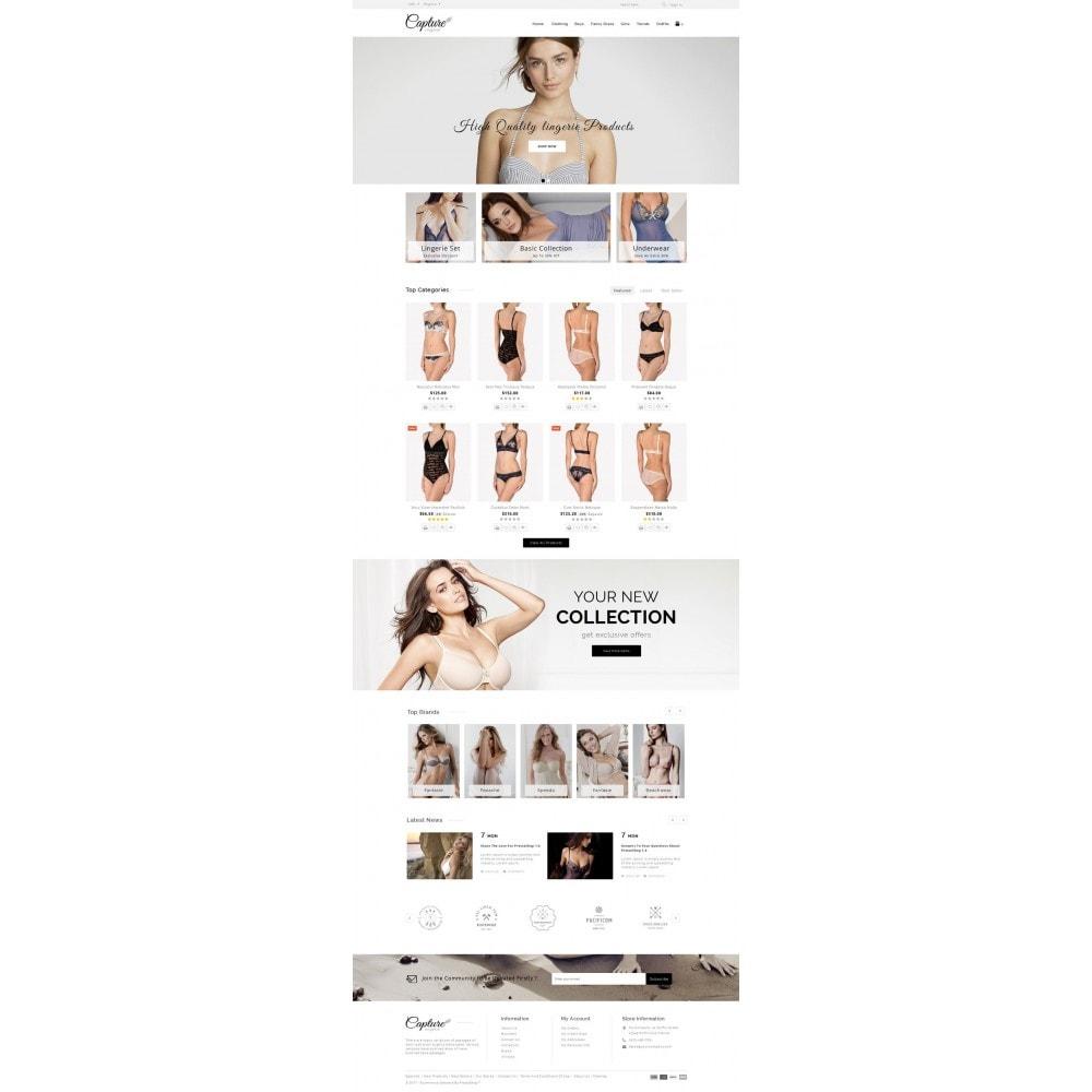 theme - Lingerie & Adulti - Capture Lingerie Online Store - 2