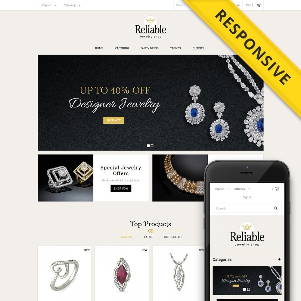 theme - Joyas y Accesorios - Reliable Jewelry Shop - 1