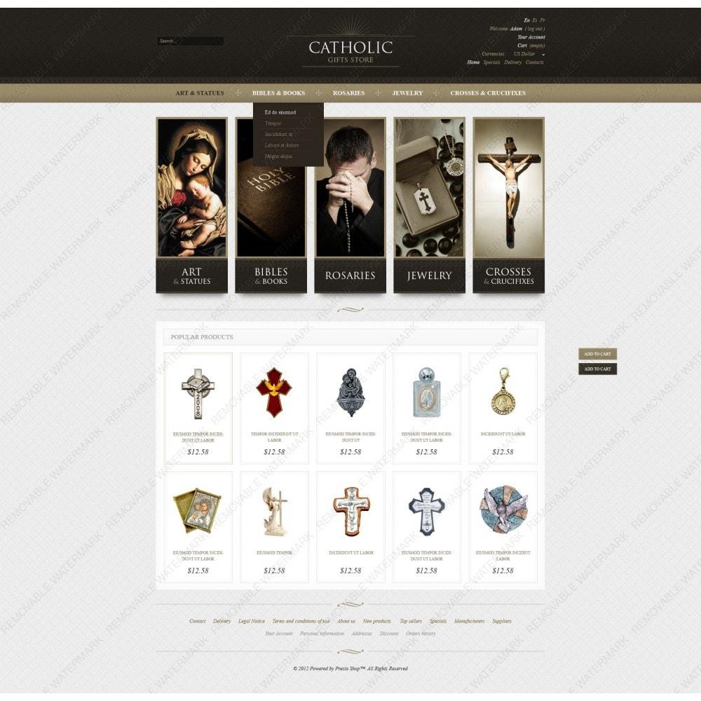 theme - PrestaShop thema's - Religious Gifts - 3