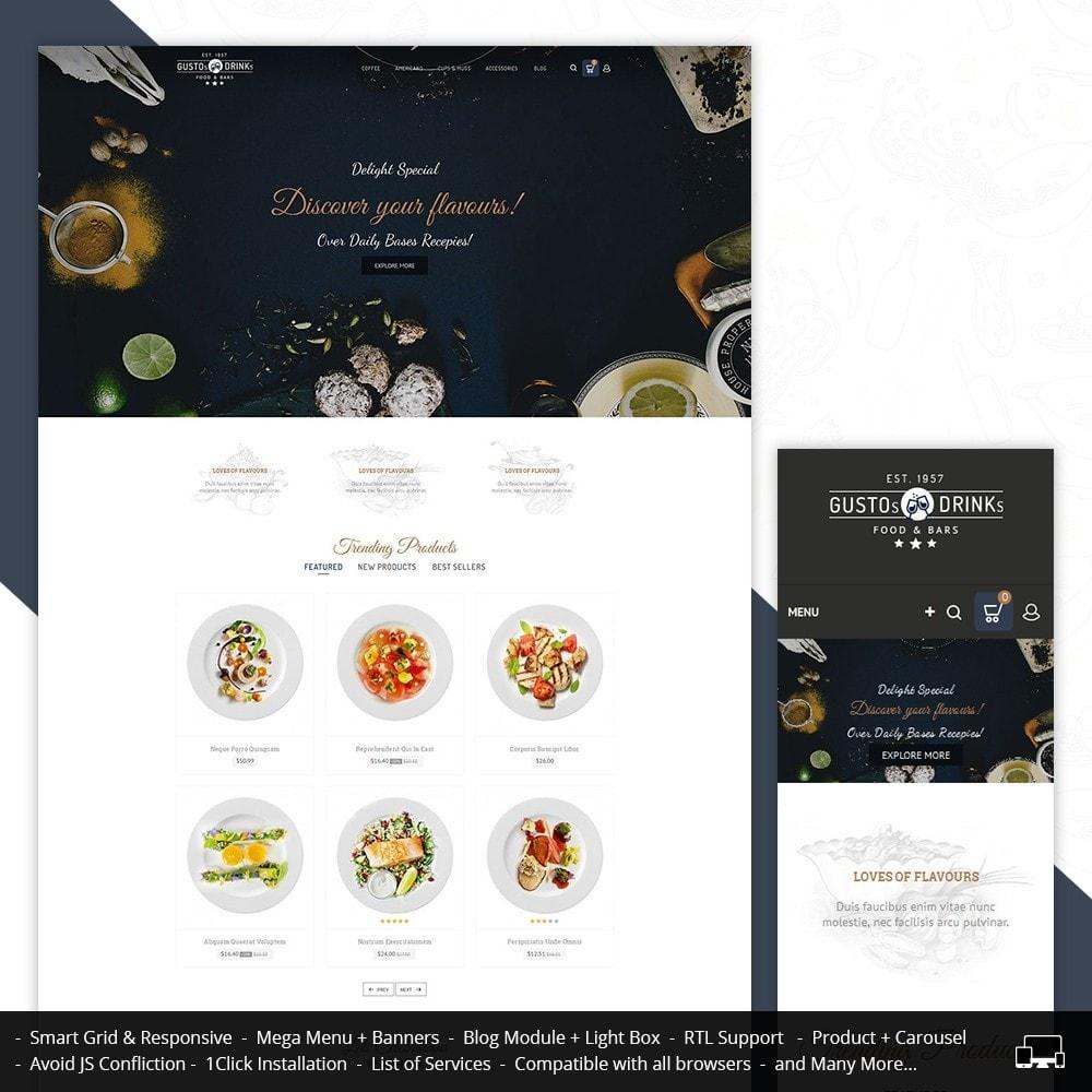 theme - Продовольствие и рестораны - Restaurant - 2
