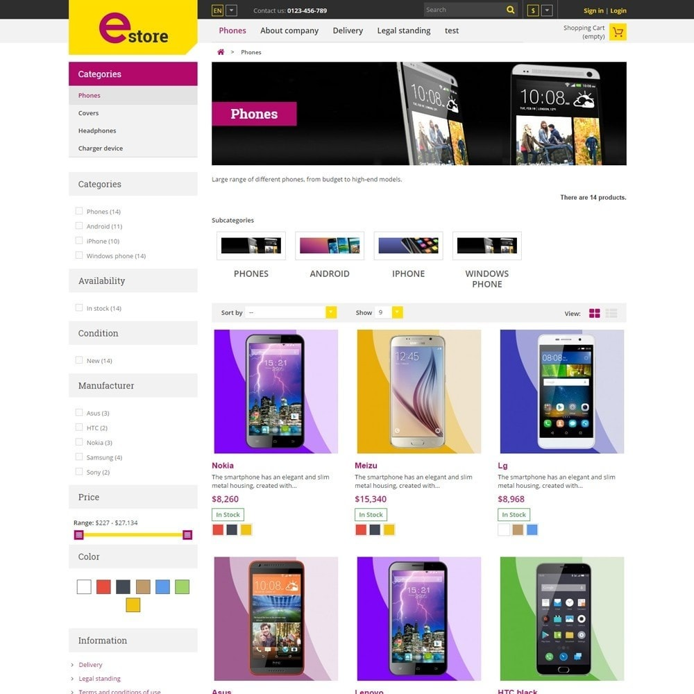theme - Elettronica & High Tech - Estore Gadget Store - 3