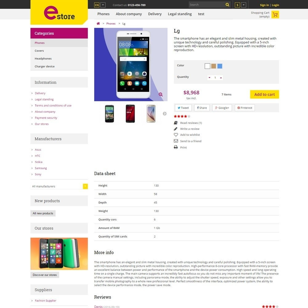 theme - Elettronica & High Tech - Estore Gadget Store - 4
