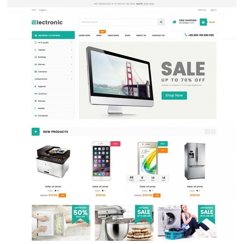 theme - Elettronica & High Tech - High-Tech Supermarket - 2