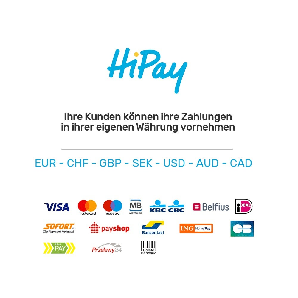 module - Zahlung per Kreditkarte oder Wallet - HiPay - 1