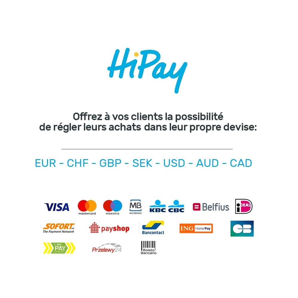 module - Paiement par Carte ou Wallet - HiPay - 8