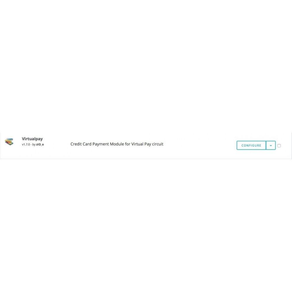 module - Pagamento con Carta di Credito o Wallet - Virtual Pay Carte di Credito - 3