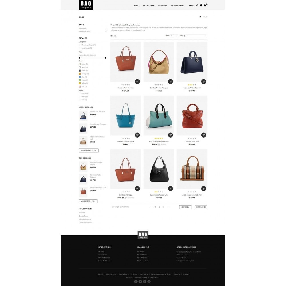 theme - Мода и обувь - Leather Bag Store - 3