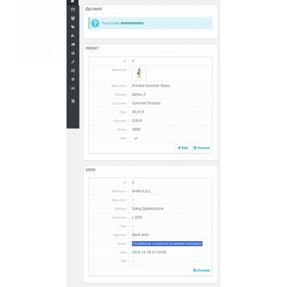 module - Zarządzanie zapasami &  Dostawcy - BarcodeScanner - 2