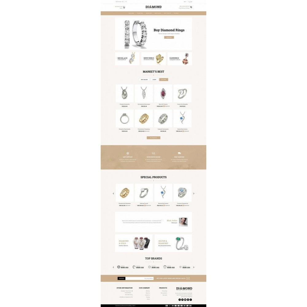 theme - Schmuck & Accesoires - Diamond Jewelry Store - 6