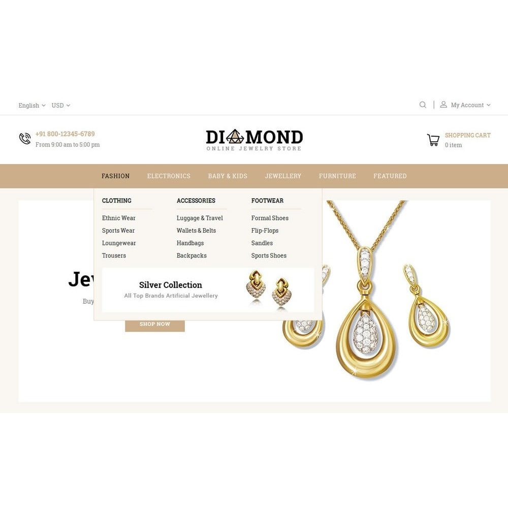 theme - Schmuck & Accesoires - Diamond Jewelry Store - 7