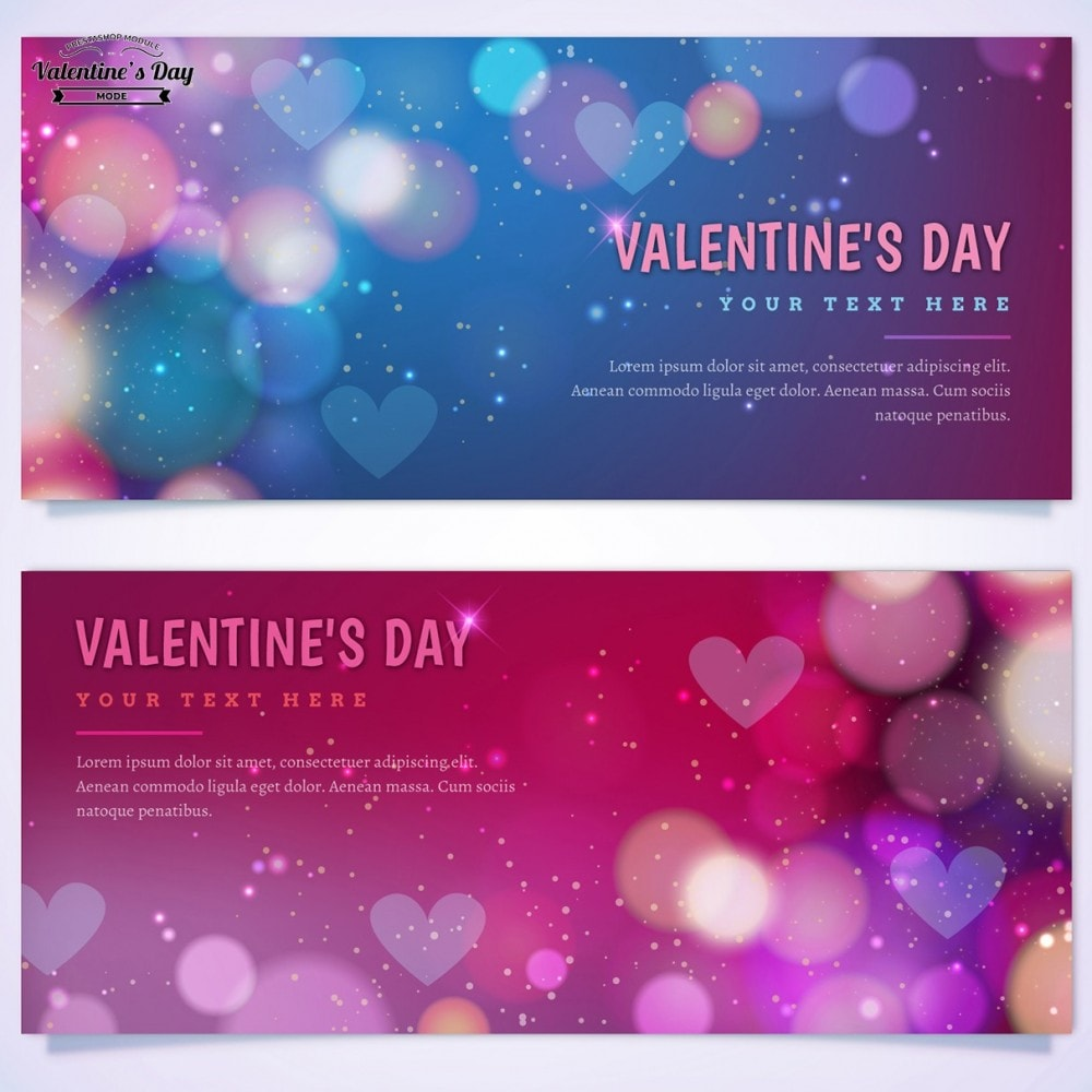 module - Slider & Gallerie - Valentines Day Mode with Graphics included - 39