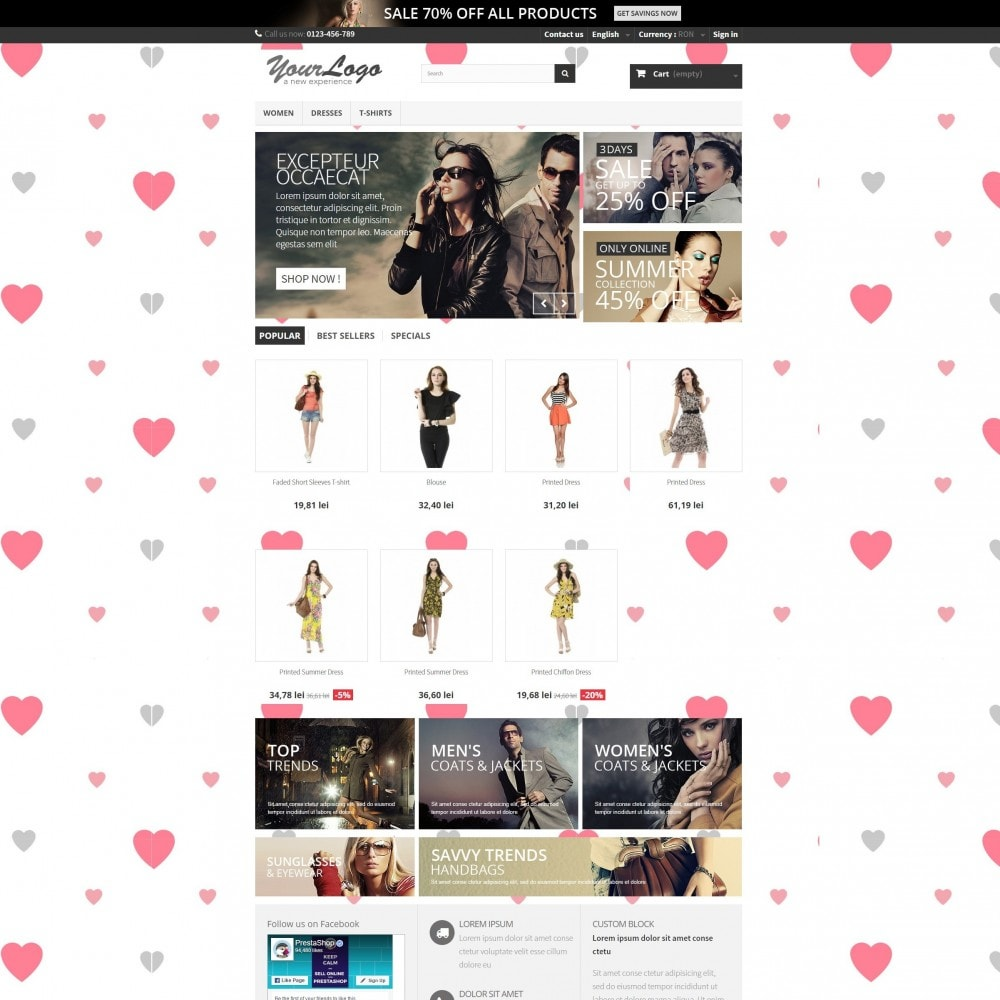 module - Slider & Gallerie - Valentines Day Mode with Graphics included - 42