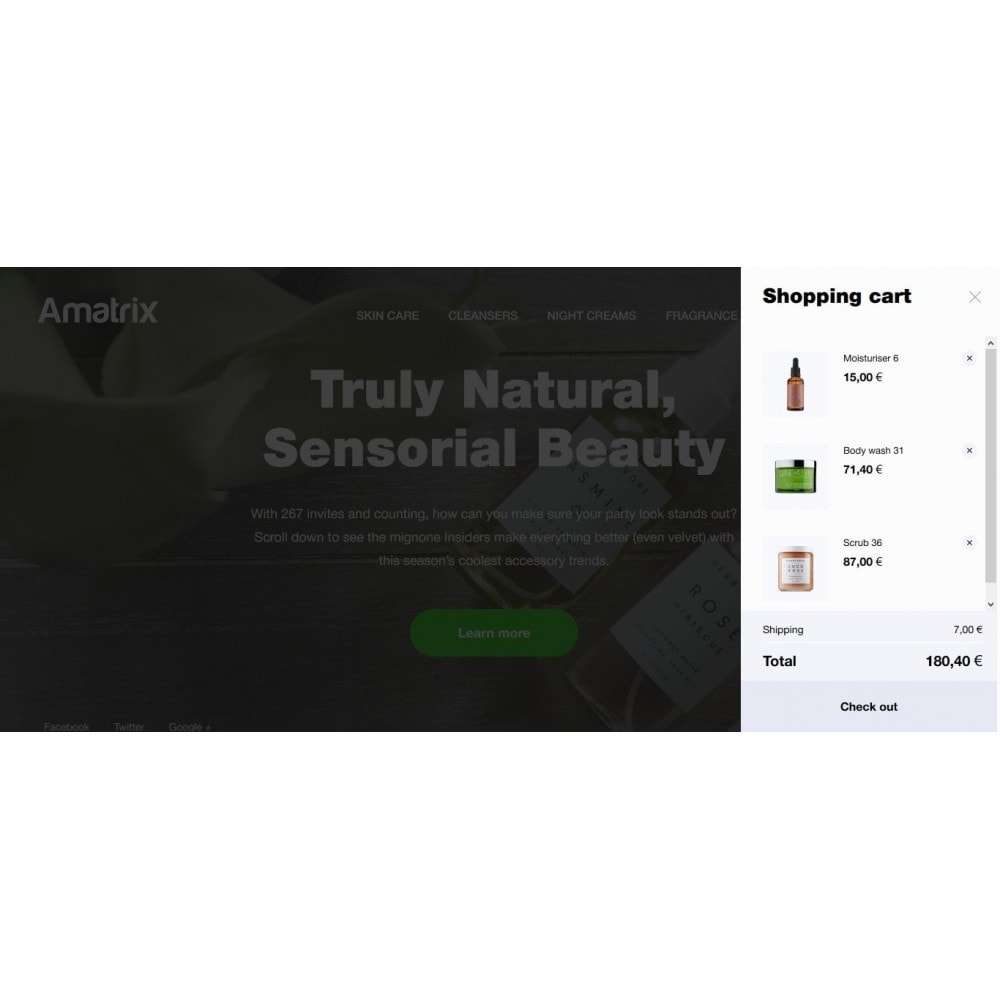 theme - Health & Beauty - Amatrix Cosmetics - 5