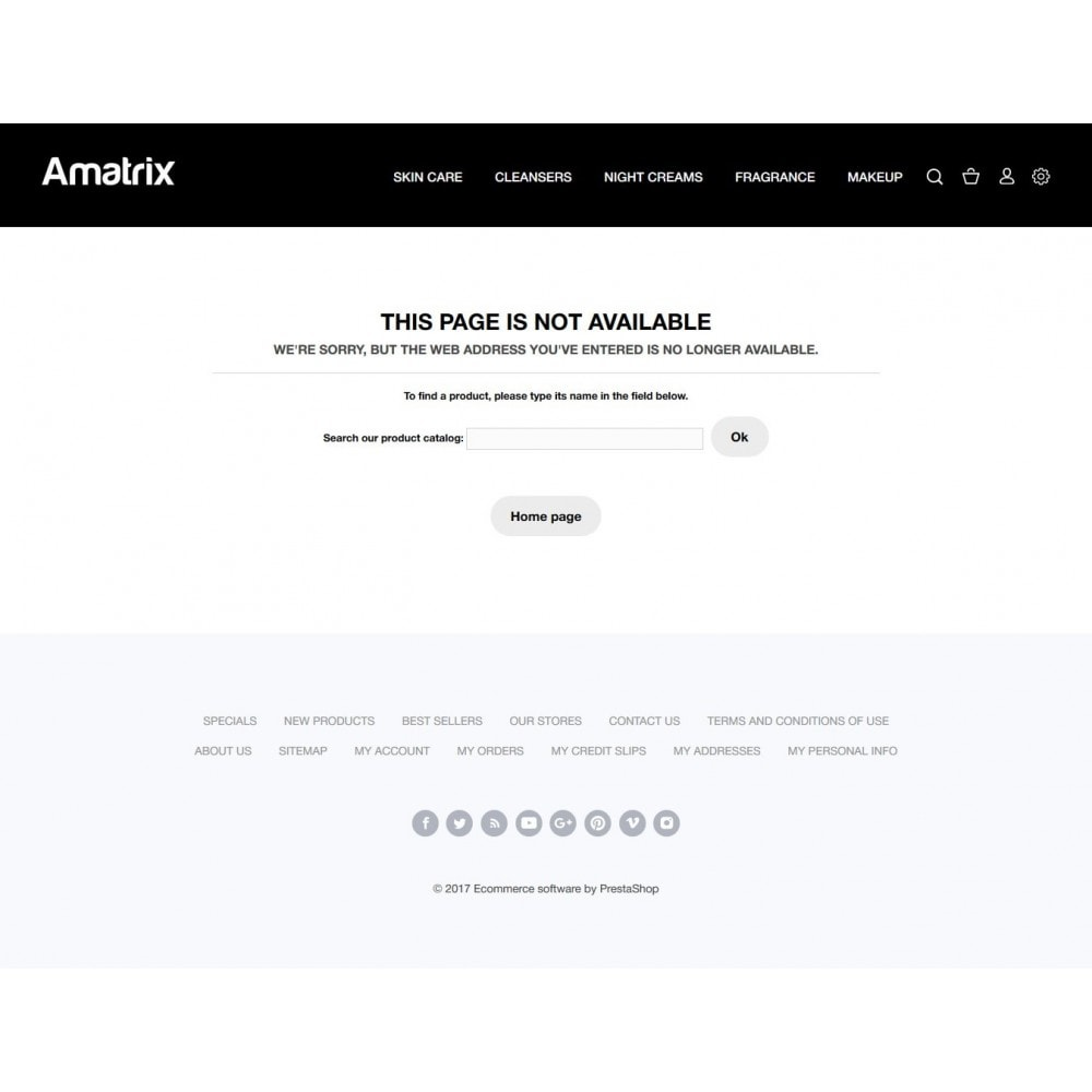 theme - Health & Beauty - Amatrix Cosmetics - 7