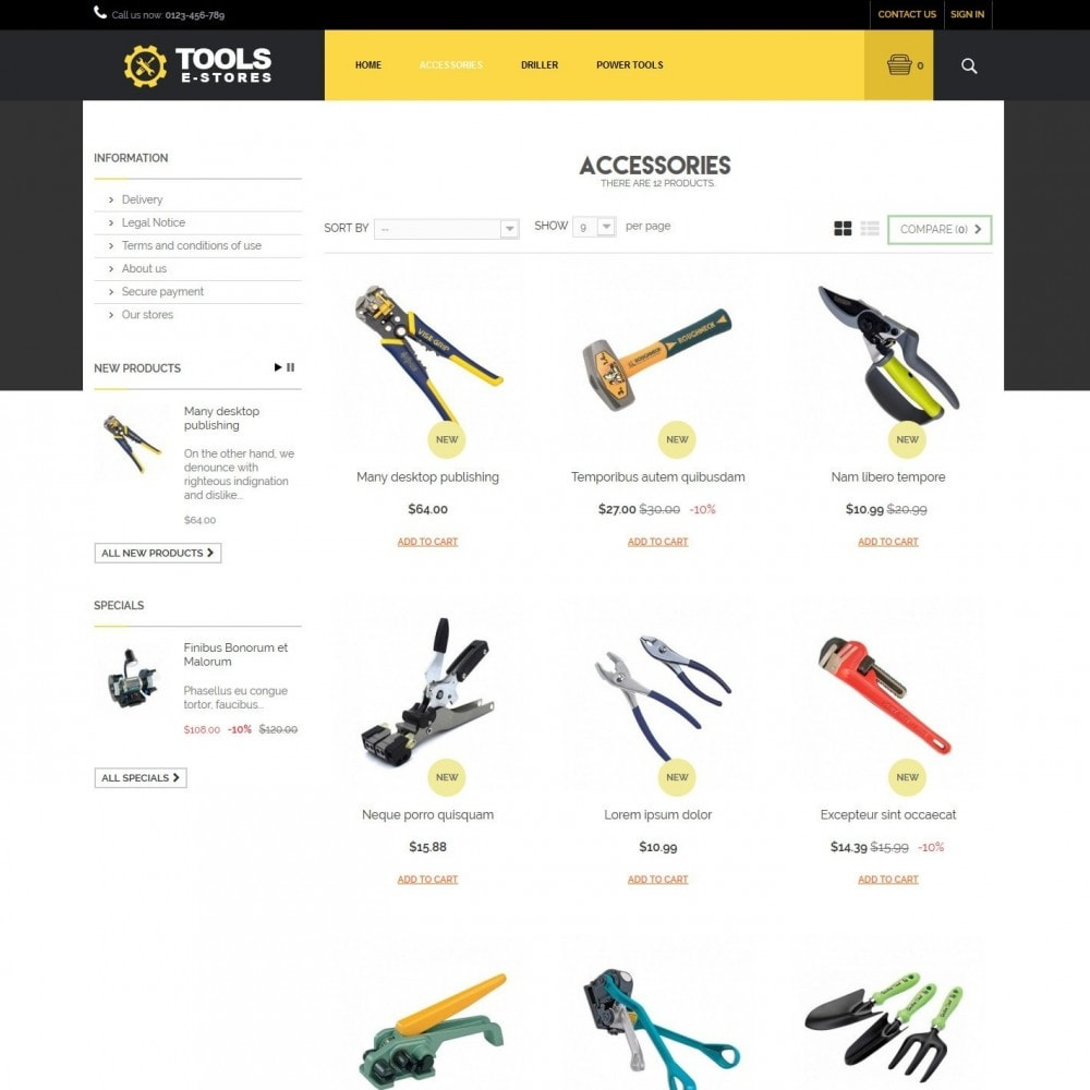 theme - Coches y Motos - toolstore - 2