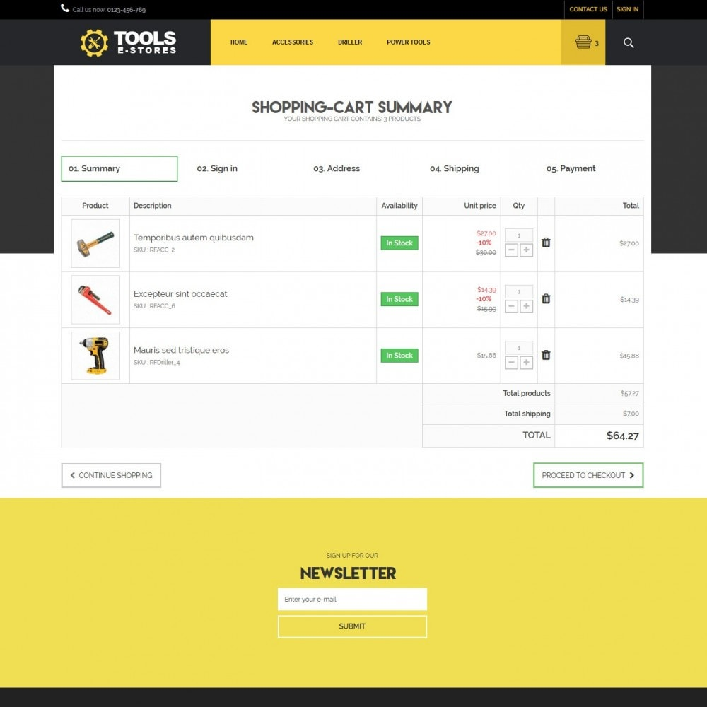 theme - Coches y Motos - toolstore - 4