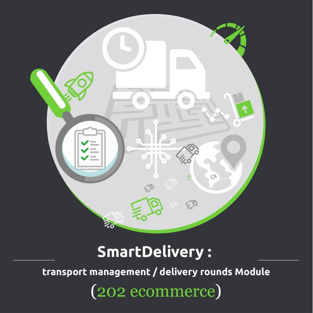 module - Transportistas - SmartDelivery: transport management / delivery rounds - 1