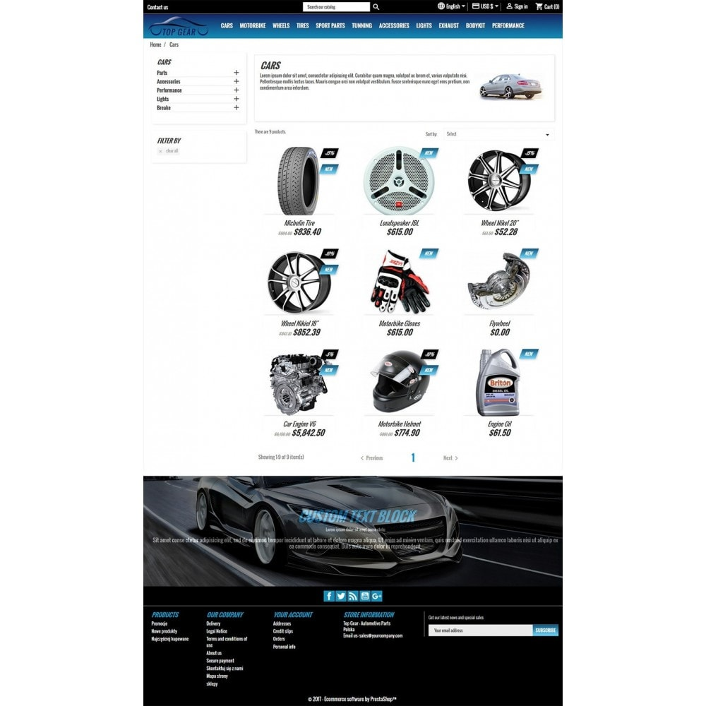 theme - Auto & Moto - Top Gear - Automotive Parts - 4